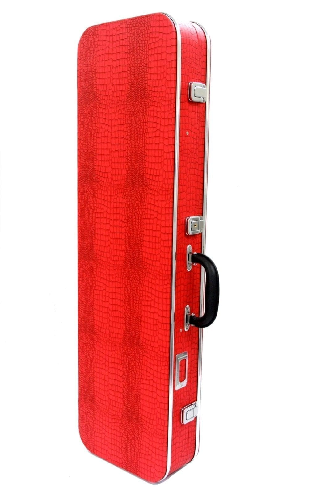 Sanshin Hard Case - Crocodile pattern - Red